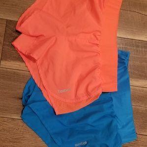 Lot of 2 Reebok athletic shorts